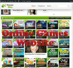 Online Game Website For Sale 100 Automated With 3 Months Free Hosting Adsense