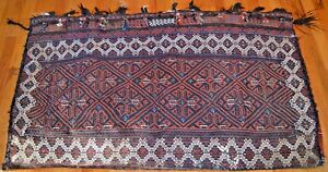 Antique Kurd Chuval Juval Tribal Tent Bag Rare