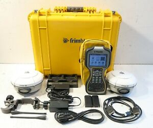 Dual Trimble R8 Model 3 Tsc3 W access Complete 450 470mhz Glonass Rtk Package