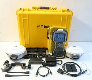 Dual Trimble R8 Model 3 Tsc3 W access Complete 430 450mhz Glonass Rtk Package