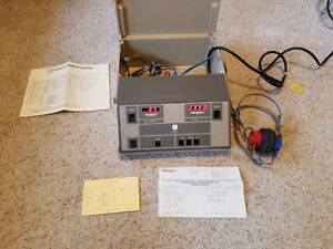 Maico Ma 39 Hearing Instrument Test Audiometer