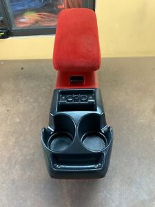 83 01 Ford Bronco Ii Ranger Explorer Center Console Red Oem Very Rare Nice
