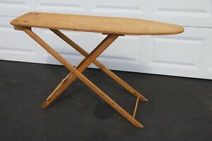Antique Folding Wooden Ironing Board Rustic Primitive Mothers Day Local Pick Up