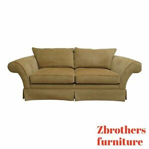 Ethan Allen Rolled Arm Living Room Sofa Couch Loveseat Chaise