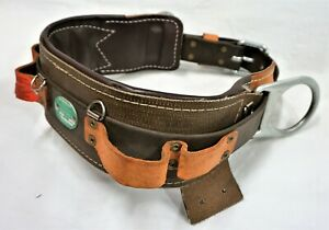 Buckingham Ers Pole Tree Climbing Body Safety Harness Line Mans Tool Belt Size22