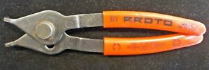 Proto Snap Ring Pliers 371 Very Good Condition