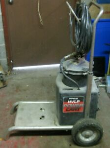 Capspray Hvlp Power Cart With Pressure Can Hoses Local Pick Up Only