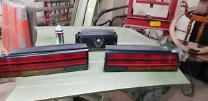 1986 1992 Pontiac Firebird Trans Am Tail Light Lamp Set Left Right Center Used