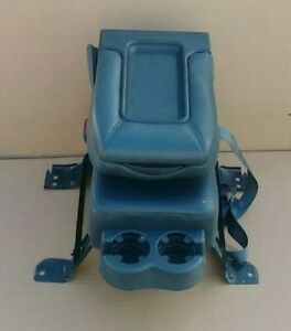 99 06 Chevy Silverado Leather Center Folding Jump Seat Console Cupholder