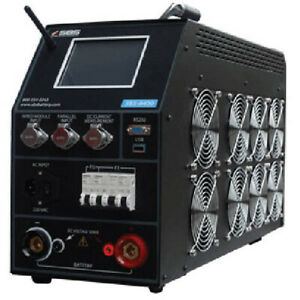 Storage Battery System Sbs 8400 Battery Cap Tester W monitoring