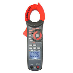Triplett 9325 True Rms Ac dc Clamp on Meter With Temp Capacitance Freq