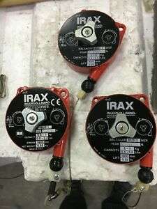 Lot Of 3 Irax Ingersoll Rand Retractable Air Tool Balancers