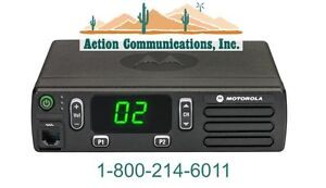 New Motorola Cm200d Digital analog Uhf 403 470 Mhz 40 Watt 16 Ch 2 way Radio