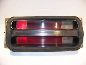 1970 1971 Plymouth Duster Lh Taillight Assy Oem 3403711