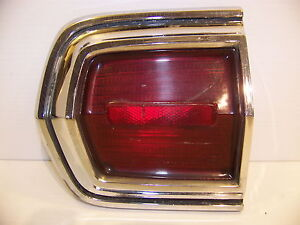 1966 Plymouth Sport Fury Taillight Housing Lens Lh Outer 2606163
