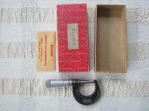 Starrett Dial Caliper No 436 1 Inch With Original Box And Paperwork Machinist M
