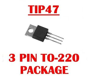 Harris Tip47 Npn High Voltage Power Transistor To 220 Qty 10 New