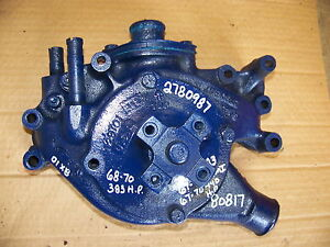 1967 68 69 70 Dodge Plymouth 426 440 Hp Water Pump Housing 2780987 68 70 383hp