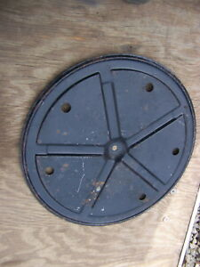 1964 1965 1966 Chrysler Imperial Metal Spare Tire Cover Oem Lebaron Crown