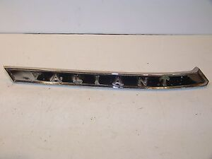 1963 Plymouth Valiant Lh Roof Pillar Trim 2243295
