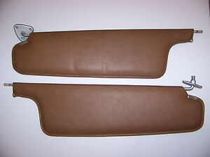 1970 Plymouth Fury Brown Sunvisors Oem Pair