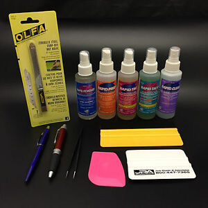 Rapid Tac 12 Pc deluxe Vinyl Install Kit Everything You Need To Install Vinyl