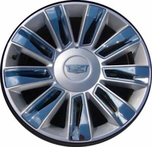 4 New Cadillac Escalade Platinum Chrome Exact Oem Factory Gm Style 22 In Wheels
