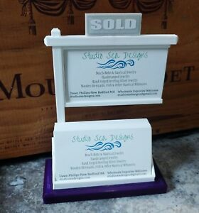 Real Estate Business Card Display business Card Display business Card Holder