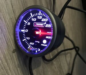 Prosports Performance Series Electrical Boost Gauge 52mm