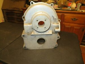 Vintage Holman Moody Ford Fe Big Block Aluminum Timing Cover Pump Drive 390 427