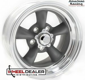 4 15x7 American Racing Vn215 Torque Thrust Ii Wheels Rims Chevy Car 5x4 75