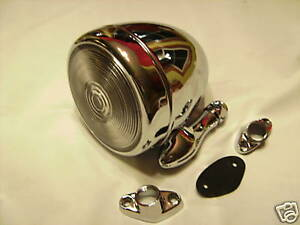 Tear Drop Dummy Spot Light 1 Bomber Lead Sled cool Custom Rat Rod hot Rod