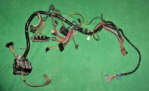 69 Camaro Rs Ss 396 Pace Car Dash Wiring Harness A T Console A C Power Window