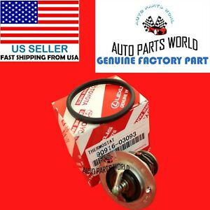Genuine Oem Toyota Lexus Coolant Thermostat Gasket 90916 03093 16325 62010