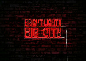 Led Neon Sign Bright Lights Big City Neon Party Sign Bar Restaurant Decor