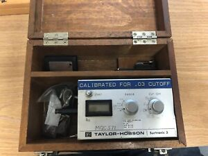 Rank Taylor Hobson Model Surtronic 3p Surface Profilometer 112 1550