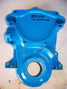 1970 Mopar Small Block Timing Chain Cover Oem 2951698 318 340 Dodge Challenger