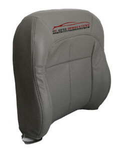 2000 Jeep Cherokee Classic Sport Utility Driver Lean Back Vinyl Seat Cover Gray