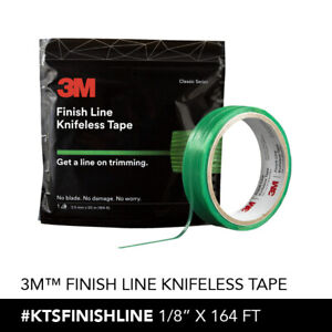 1 Roll Of 3m Knifeless Finish Line Tape Graphic Wraps 1 8 X164 Not A Knockoff
