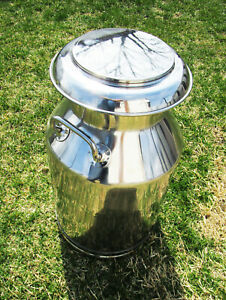Cowbell Aisi 304 Grade Stainless Steel Milk Can
