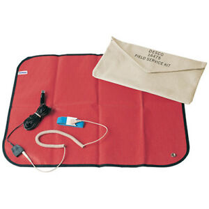 Desco 16475 Mat Portable With Wriststrap 18in X 22in