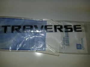 New Genuine Gm Oem Chevrolet Traverse Emblem 25848463