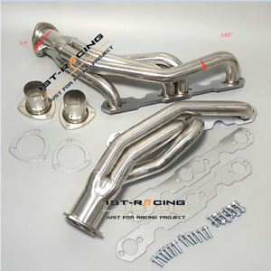 For Chevy Gmc Truck 1500 2500 3500 V8 5 0l 5 7l Stainless 304 Exhaust Header