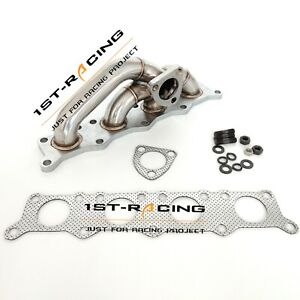 New Stainless Steel Polished Turbo Exhuast Manifold For Audi A4 Vw Passat 1 8t