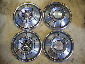 1970 1971 Dodge Charger Hubcaps Wheel Covers 14 4 Coronet Challenger