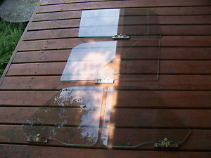1963 Plymouth Valiant 2 Door Sedan Door Quarter Panel Side Glass Oem 4 Pcs