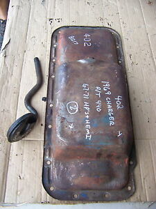 1969 70 71 Dodge Plymouth 440 Hp Hemi 402 Oil Pan Oem Charger Road Runner Cuda