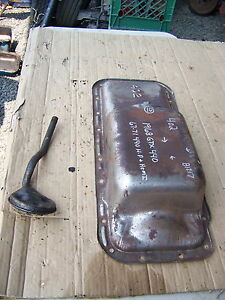 1968 Plymouth Gtx Oil Pan Oem 402 67 69 70 71 440hp Hemi Dodge Rt Charger