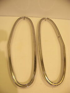 1965 66 67 68 69 70 71 Dodge Truck Taillight Trim Rings Oem Power Wagon 2911452