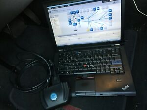 Chrysler Vci Pod With Laptop Running Witech 17 No Hassle Package Not A Clone